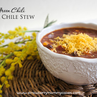 Green Chile Pork Chili Stew.
