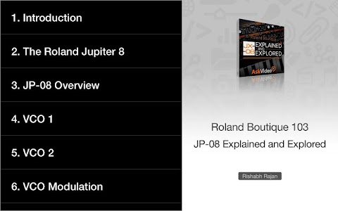 Download Tour for Roland Boutique JP-08 APK latest version 1 0 for android  devices