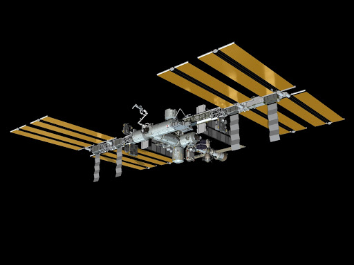 ISS Configurations of ISS depicting ULF5-Post STS-133