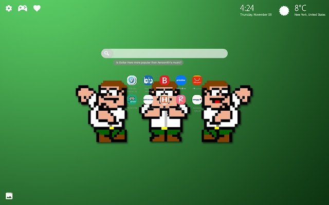 Peter Griffin Family Guy New Tab Wallpaper