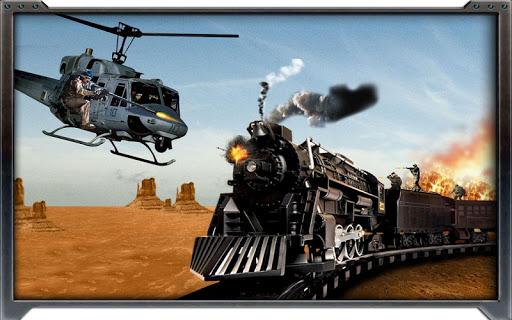 炮艇火车攻击