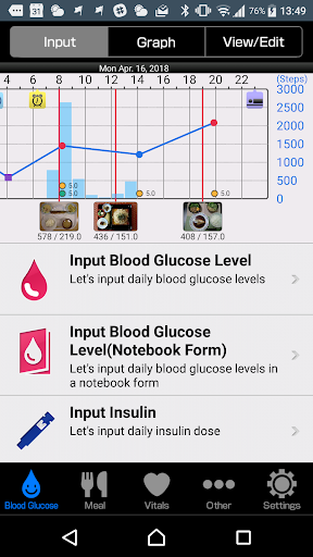 Smart e-SMBG -Diabetes lifelog 1.1.40 Windows u7528 2