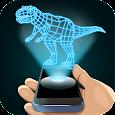 Hologram Dinosaur 3D Simulator apk