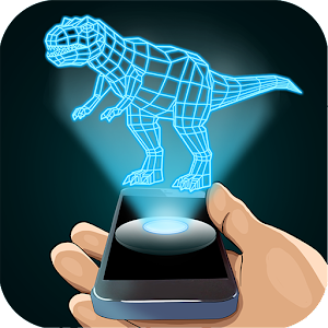 Hologram Dinosaur 3D Simulator for PC and MAC