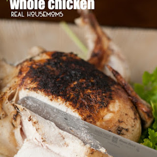 Pressure Cooker Whole Chicken.