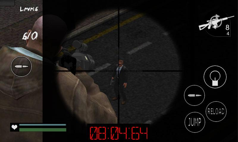 Crime Hitman Mafia Assassin 3D- screenshot