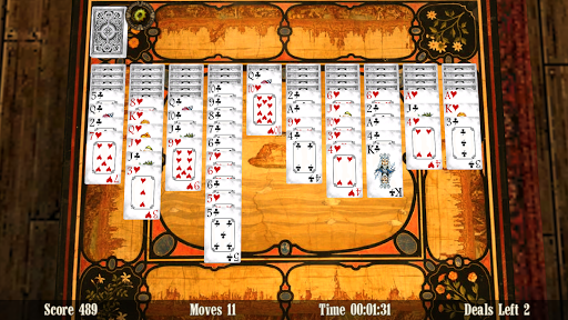 Spider Solitaire 3D game for Android screenshot