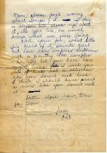 Photo: NavCAD Patrick Alonzo Tillery letter home from flight school 3 of 3 22 July 1954