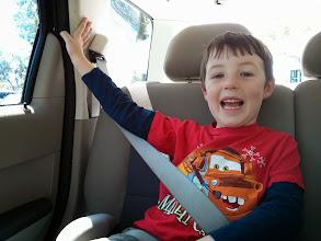 Photo: Clark in The Car