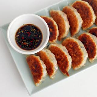 Pan-Fried Vegetable Dumplings