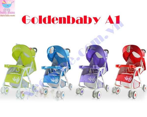 Xe đẩy em bé Goldenbaby A1