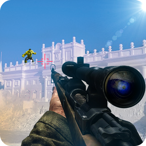 Police vs Monster Sniper Shooter - Modern Strike
