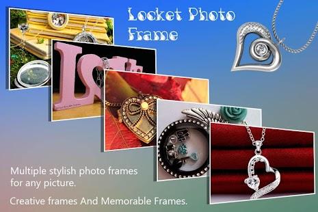 Locket Photo Frame - náhled