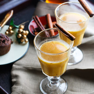 Spiced Pineapple Rum Hot Toddy {Naturally Sweetened}.
