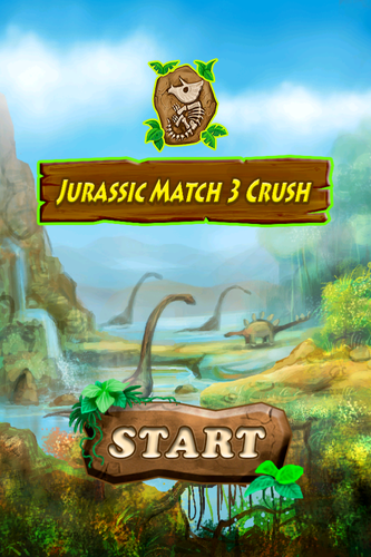 Jurassic Match 3 Crush