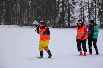 Photo: Jäällä oli hassu paraati.