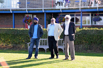 Photo: The Mayor Of Bedford with Representatives of the Bedford Gurdwara