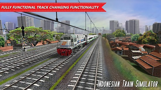 Indonesian Train Simulator Screenshot