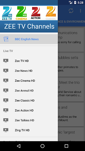 ZEE TV Channels app (apk) free download for Android/PC/Windows