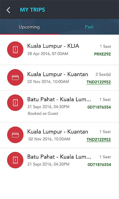 CatchThatBus Bus Tickets- screenshot