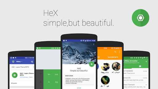 HeX - Layers Theme