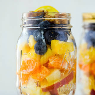 Fruit Salad in a Jar.