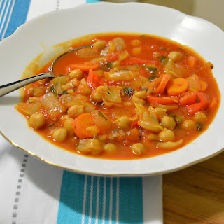 Chickpea and Vegetable Stoup Recipe