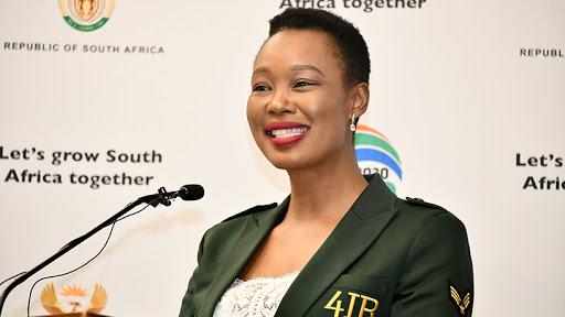 Communications and digital technologies minister Stella Ndabeni-Abrahams.