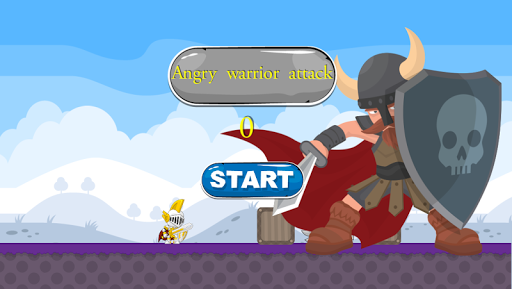 Angry warrior attack