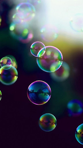 Bubble Live Wallpaper With Moving Bubbles Pictures Screenshot 3