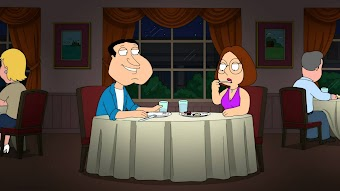 Quagmire und Meg