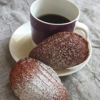 Honey & Vanilla Madeleines