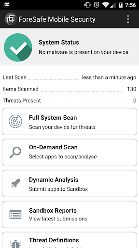 ForeSafe Mobile Security