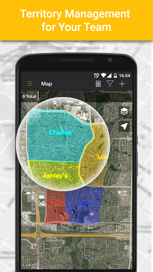 map on door spotio door to door tracking android apps on google play