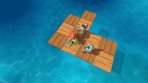 Epic Raft: Fighting Zombie Shark Survival 0.7.0 screenshots 1
