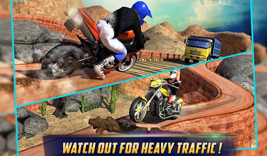 Crazy Offroad Hill Biker 3D screenshot 14