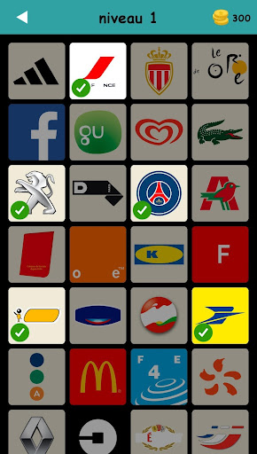 Logo Test: Français Quiz & Jeu, Devinez la Marque apktreat screenshots 1