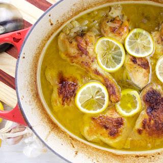 Lemon and Garlic Chicken Stew.