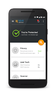 REVE Antivirus Mobile Security- screenshot thumbnail