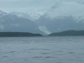Photo: Davidson Glacier flows out of the Chilkat Mountain Range.