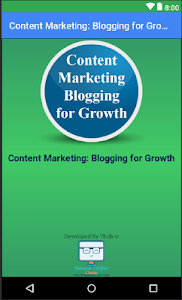 Content Marketing: Blogging for Growth 1.0