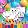 Learn Coloring Mcqueen For Kids APK icon