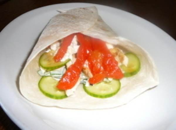 Mediterranean Chicken Wrap Recipe