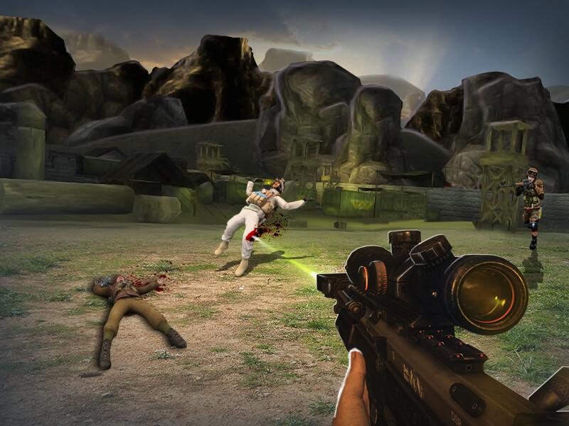 Shooting Contract: Sniper 3D- screenshot