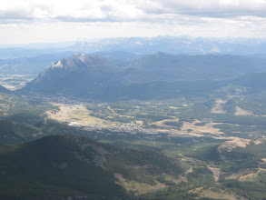 Photo: Blairmore from Crowsnest Mountain