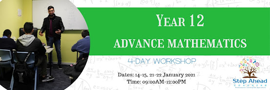 Year 12 Advance Mathematics Workshop (4-Day)
