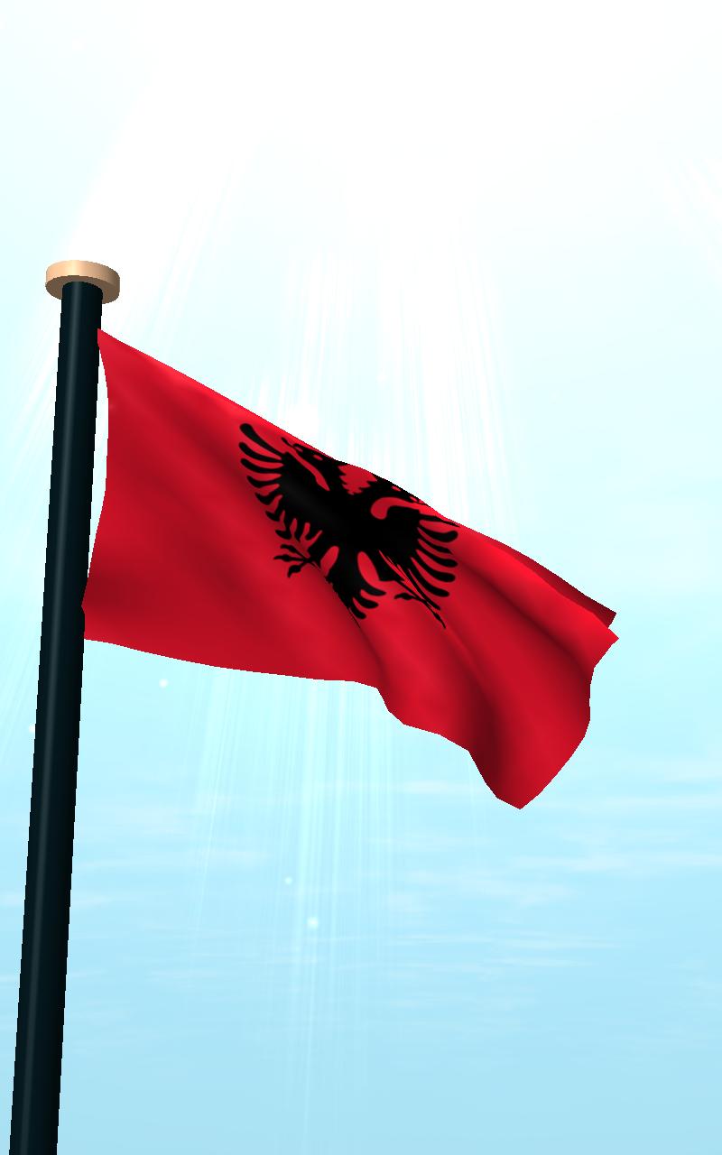 Скриншот Албания Флаг 3D Бесплатных