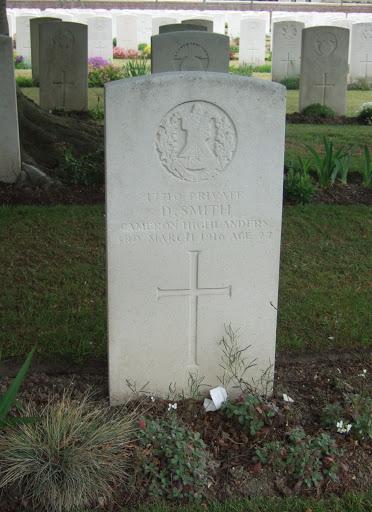 David Smith grave