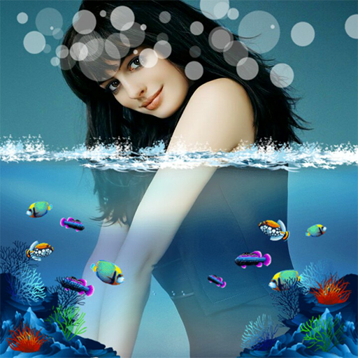 3d water effect photo editor