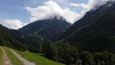 Photo: Gadmen-völgye felülről